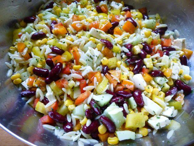 Rezept: Kritharaki-Salat Bild Nr. 2299
