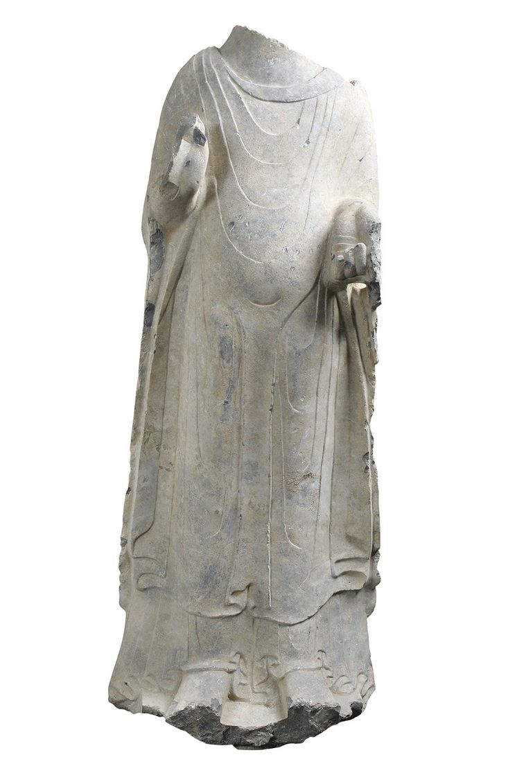 Northern Wei Period Stone Figure of the Preaching Buddha. 5th Century A-D.