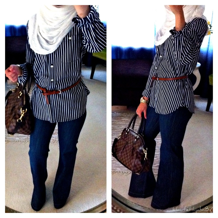 hijabi style. Like the shirt