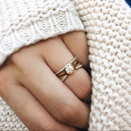 Bague Cosme Diamond Kat Kim en diamants                              …