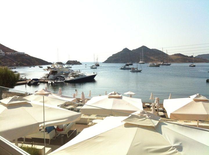 Patmos Aktis Suites & Spa #view #summer #holidays