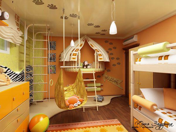 Красочная детская: 12 потрясающих комнат, дизайнерские проекты. Обсуждение на LiveInternet - Российский Сервис Онлайн-Дневников
