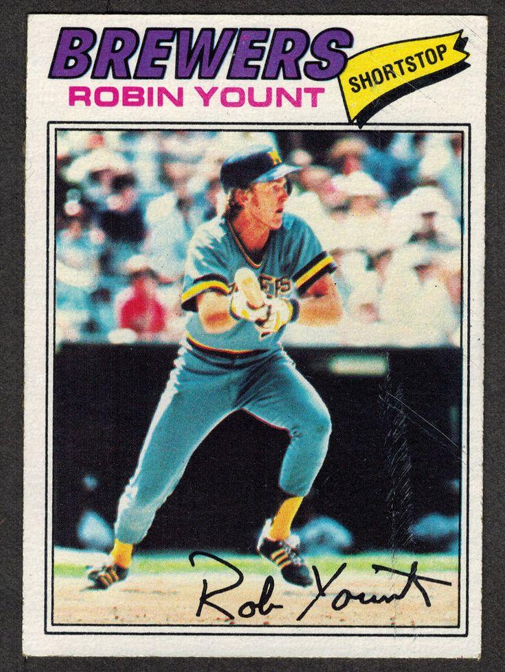 1977 topps 635 robin yount kansas city royals vg