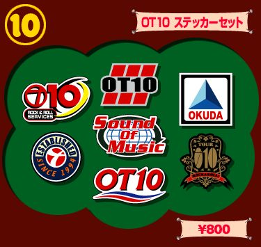 WINDOW SHOP : okuda tamio tourOT10 GOODS