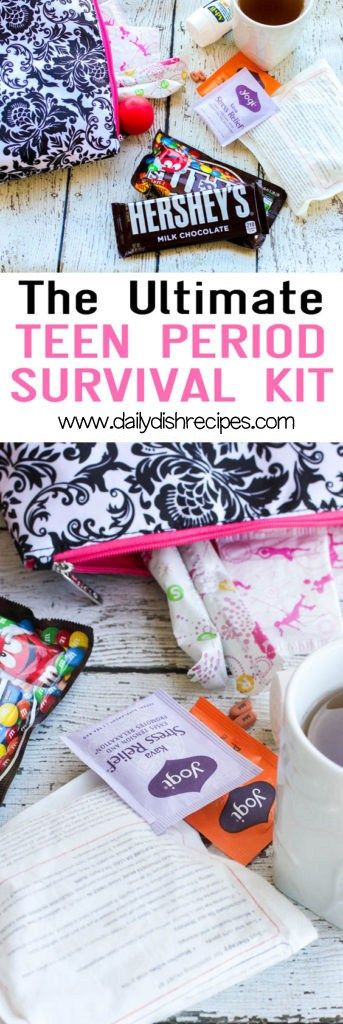 The Ultimate Teen Period Survival Kit