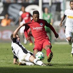 German Bundesliga match: Borussia Monchengladbach vs Eintracht Frankfurt