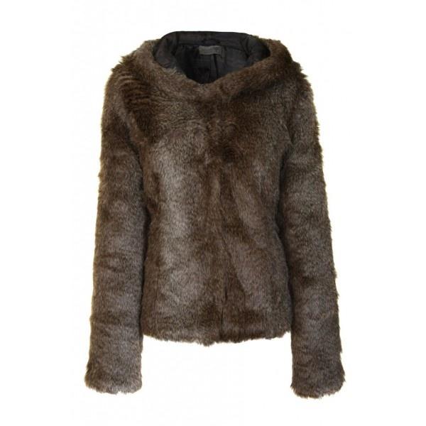 Numph New Shorty Faux Fur Jacket