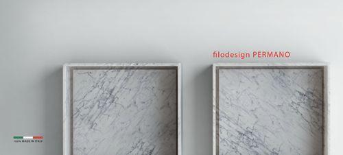 PERMANO - white marble sink Filodesign
