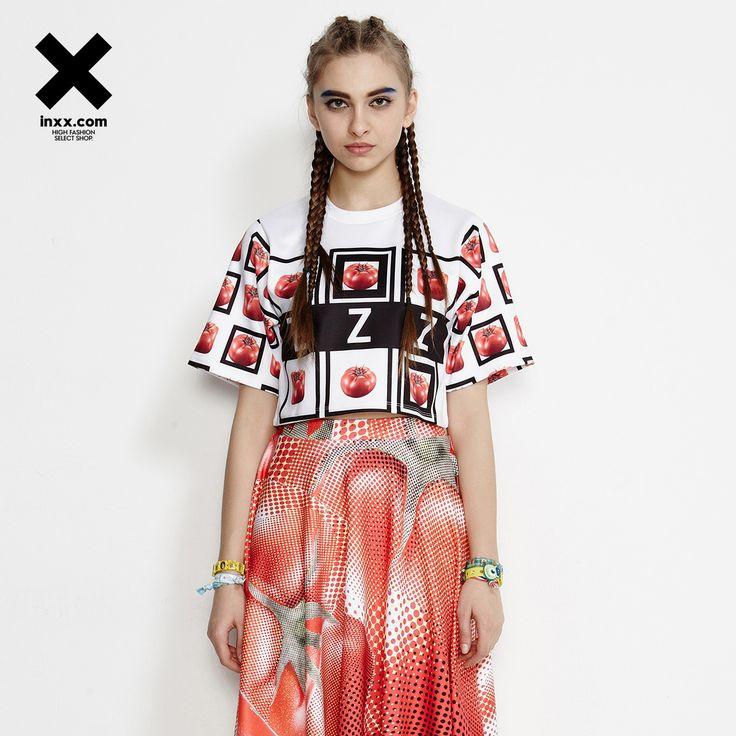[INXX] ZIZTAR nou de imprimare T-shirt corp scurt ZT52016726