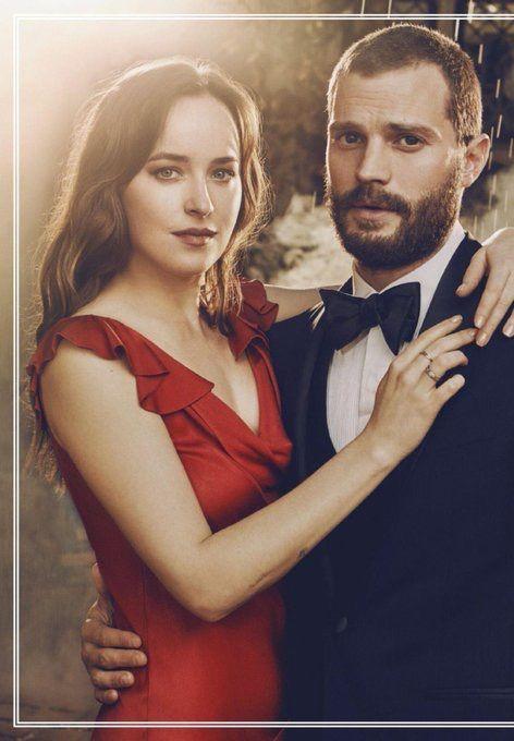 Pictures of Dakota and Jamie for a Fifty Shades Freed photoshoot (via #Gossipgyal) #DakotaJohnson #JamieDornan #FiffyShadesFreed