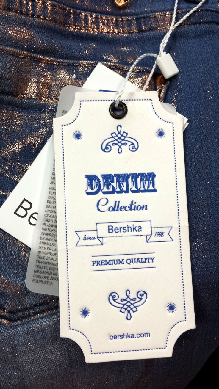 Bershka #hangtagSwings Ticket, Labels Denim, Jeans Labels, Hanging Tags, Labels Tags, Bershka Hangtag, Fashion Brand, Swings Tags, Garment Labels