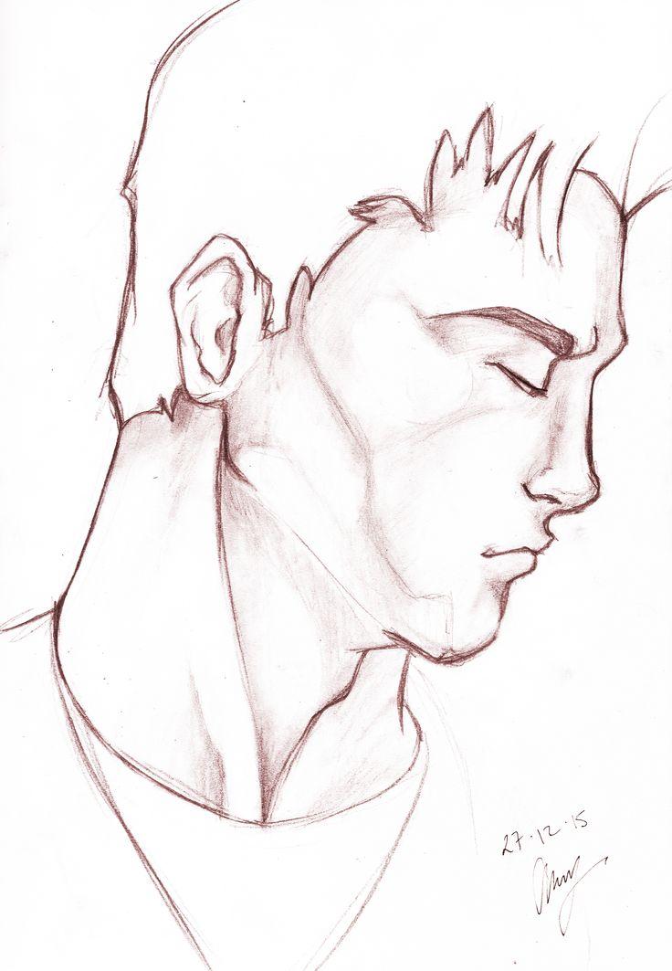 Adam Male - Anthony Keutzer #Adam #Male #sketch #pencil
