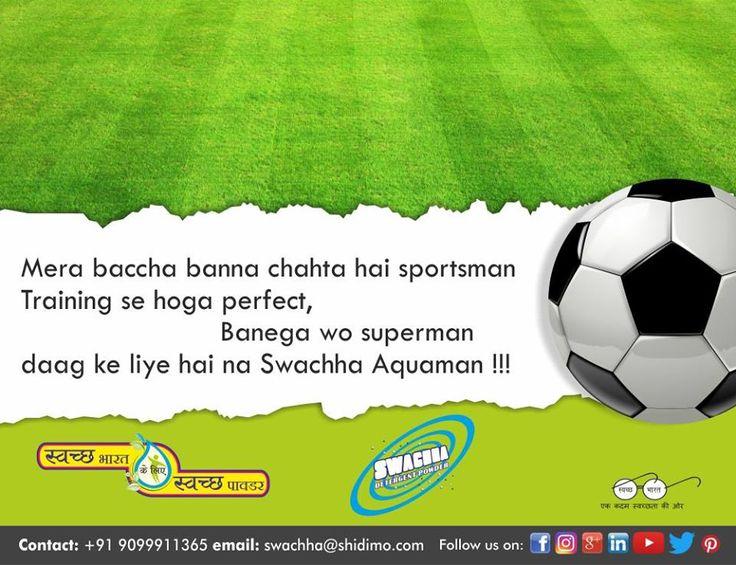 No stain deserves fame. Stains deserve Swachha Detergent Powder #Detergent #surat_friendly