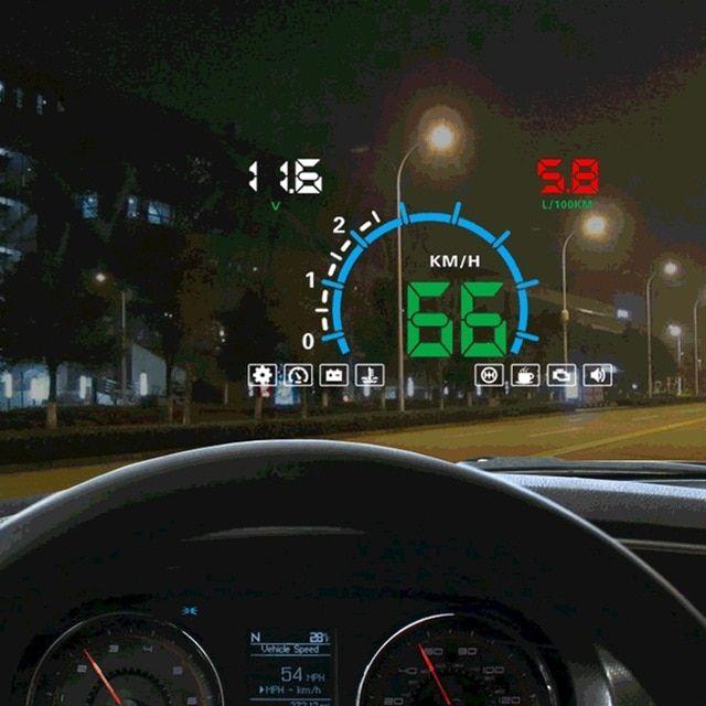 Car Speed Projector Automobile Windshield Projector