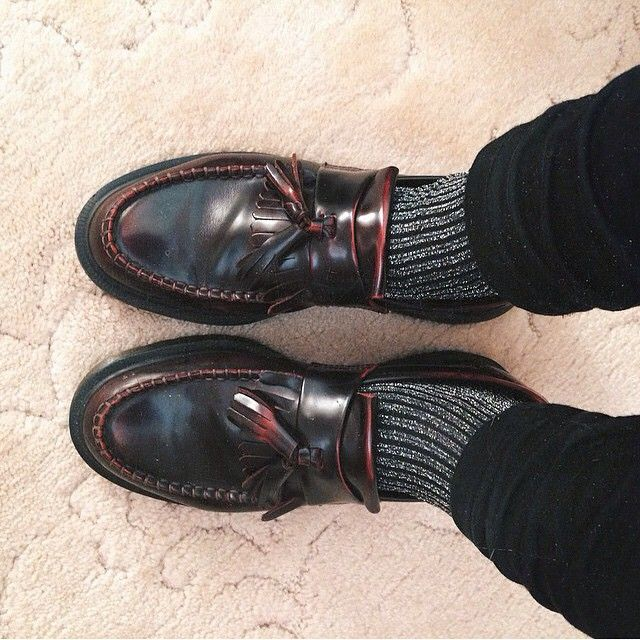 """""""The #DrMartens Adrain Loafer, worn by @chanelthehuman #DrMartenStyle"""""""