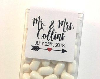Mint to Be Tic Tac Favor labels, Tic Tac Labels, Favor Label,  Wedding Favor, Mint to Be Favor,Mr. & Mrs. Labels, Bridal Shower Favor