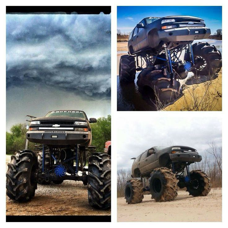 Chevy Yukon mega mud truck