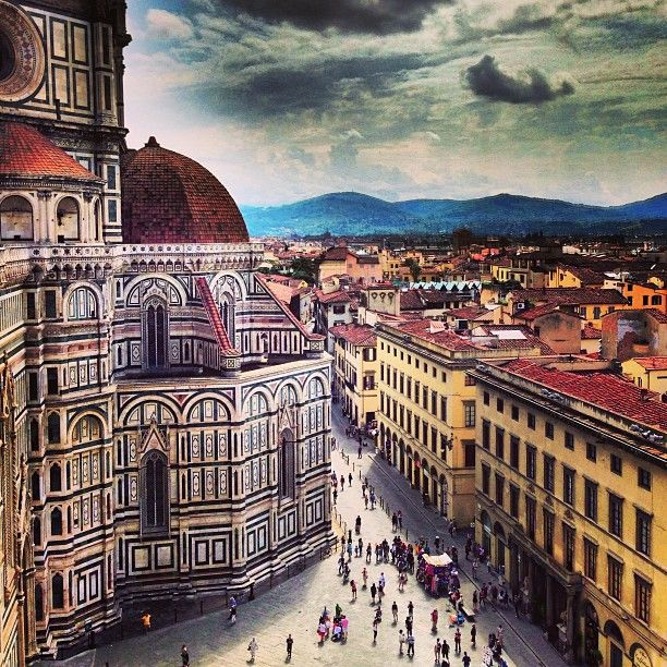 Piazza del Duomo en Firenze, Toscana