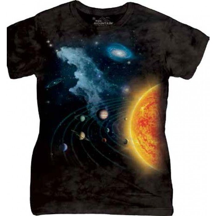 Tricouri The Mountain – Tricou Solar System Dama