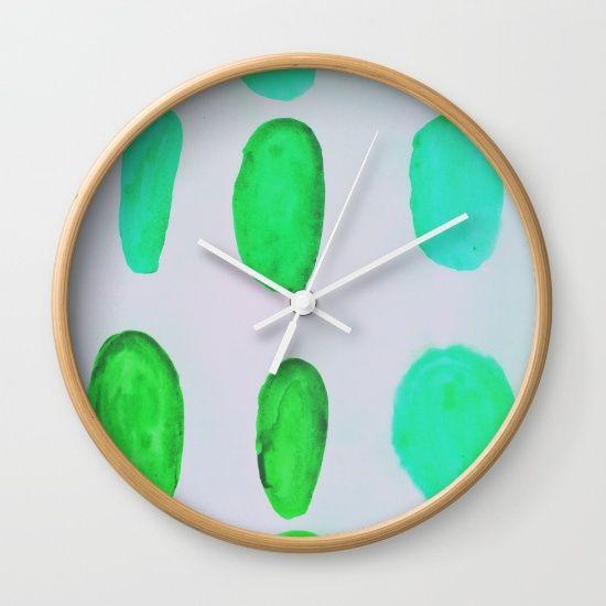Color Test II Wall Clock