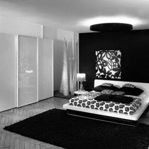 Cute Ideas For A Black And White Bedroom
