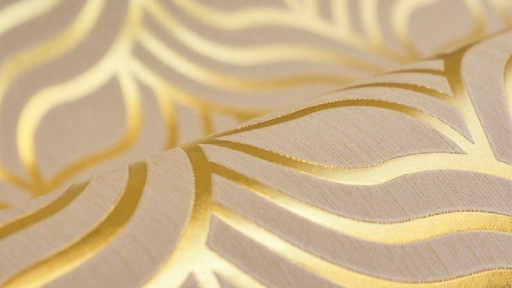 Nice Metallic Gold Background Wallpaper HD 1