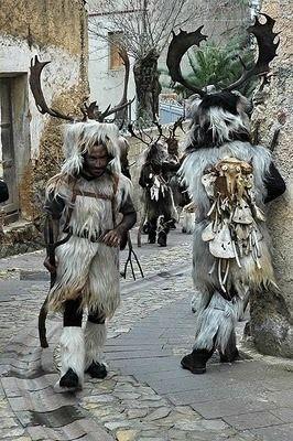 Sardinia, Italy - Carnevale Barbagia