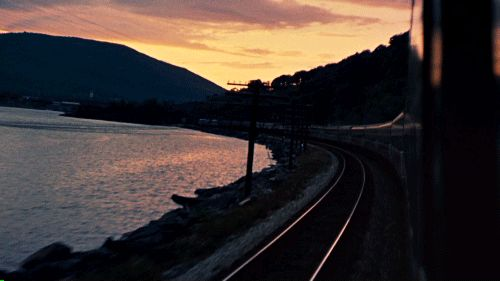 Train.   23 Whimsical GIFs That Will Make You Want To Go Somewhere New