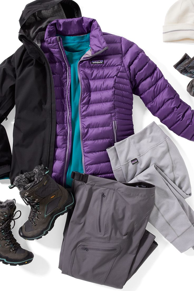They say blizzard, you say snow day! Stay warm from head to toe with women's winter gear from Keen, Patagonia, REI and The North Face. Shop this look at REI.com