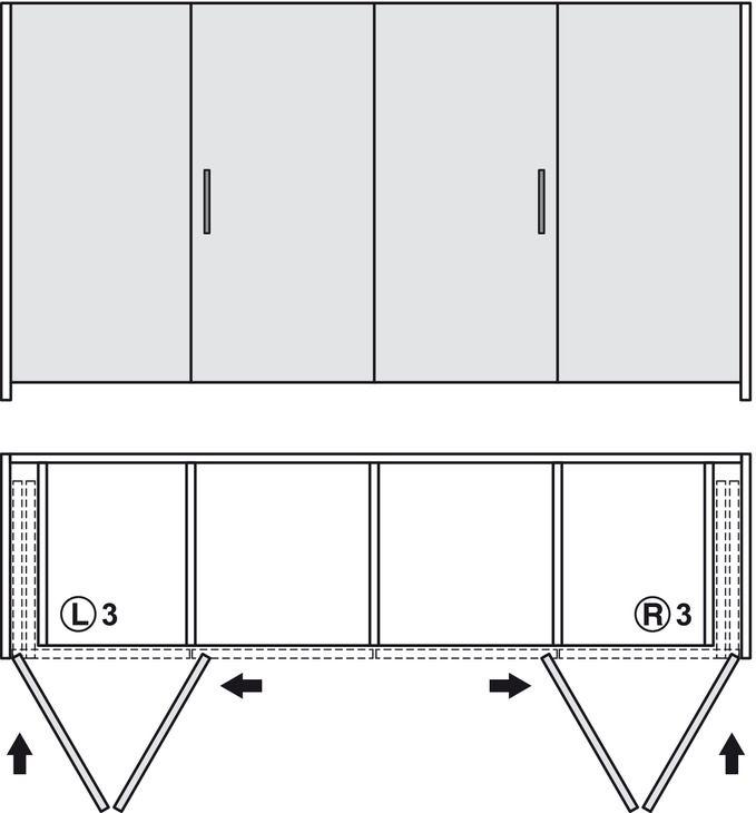 Wooden Folding Sliding Doors Hawa Folding Concepta 25 Set In The Hafele Australia Shop In 2020 Sliding Folding Doors Door Fittings Wooden Doors