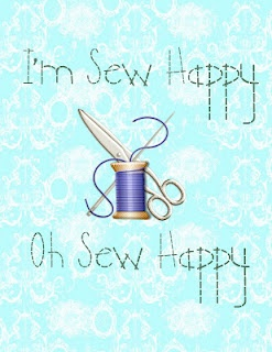 Sew Happy - Printable
