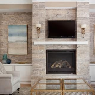 Fire places and Fireplace mantels