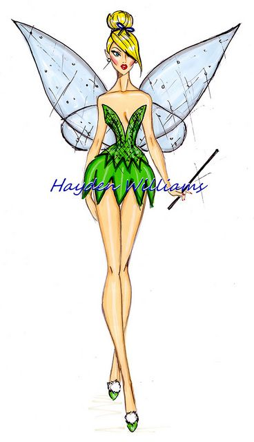 The Disney Divas collection by Hayden Williams: TinkerBell by Fashion_Luva, via Flickr: