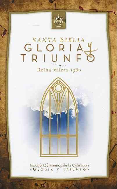 Santa Biblia gloria y triunfo / Holy Bible Glory and Triumph: Reina-valera 1960, Estudio Biblia / Reina-valera 19...