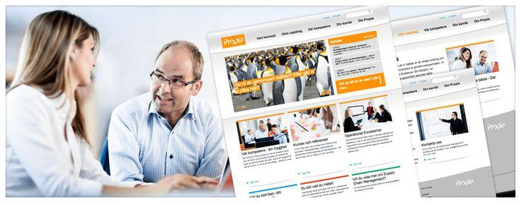 Konsultföretaget Propia gav Ninetech förtroendet 2012 att designa och utveckla en ny webbplats som bygger på CMS:et Drupal.