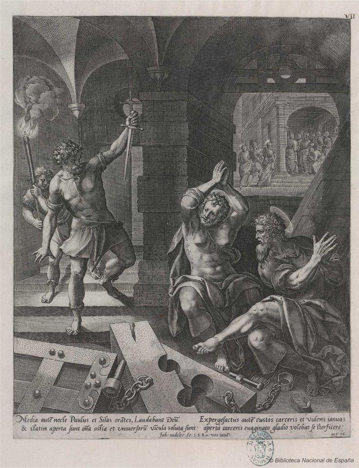 [La historia de San Pablo]. Sadeler, Johan 1550-1600 — Grabado — 1580-1584?