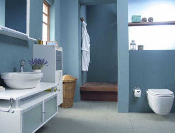 25 Amazing Unique Luxury Blue Bathroom Design Ideas Blue Bathroom Blue Bathroom Decor Bathroom Design