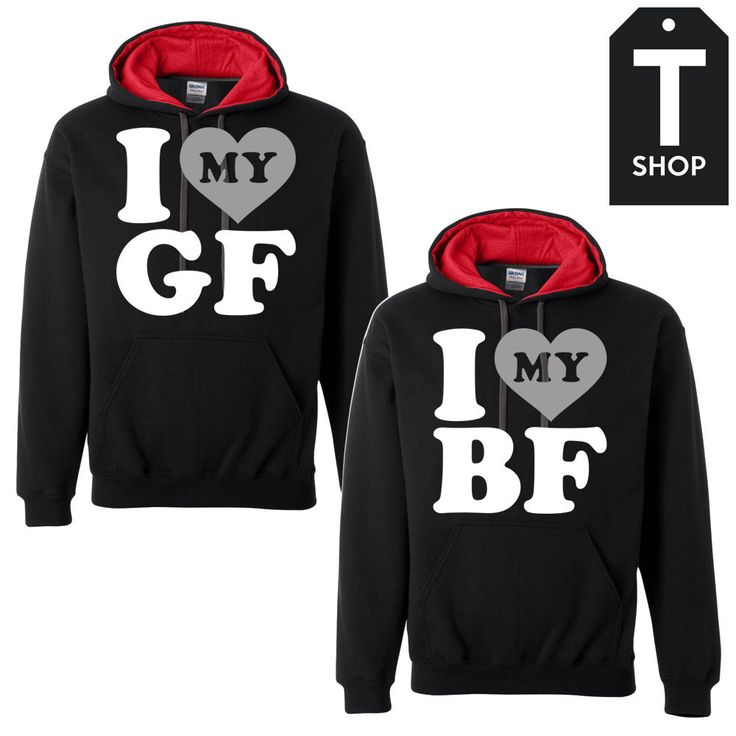 25  ideias fofas de Boyfriend and girlfriend hoodies no Pinterest ...