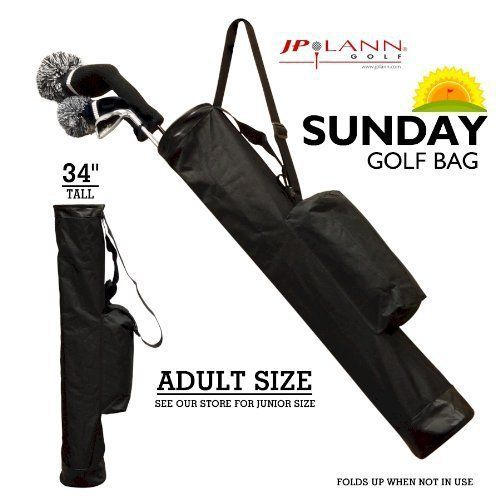 Product review for Sunday Golf Bag (Adult Size) By JP Lann / Perfect for the Golfer on the Go! - (Please visit our website for more details).
