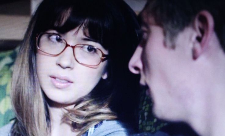 Nichole Bloom and Jeremy Allen White in a scene from Shameless