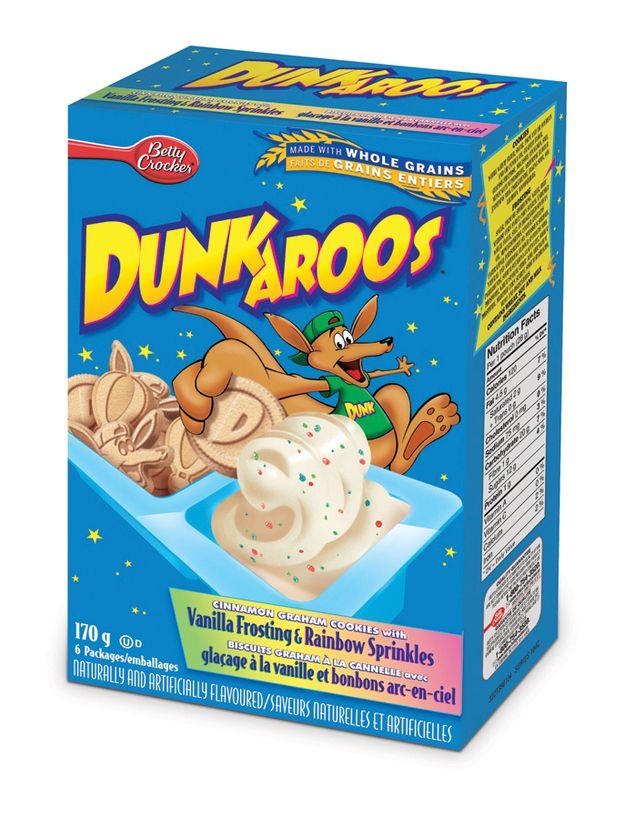We had Dunkaroos. | A '90s Kid's Childhood Memory