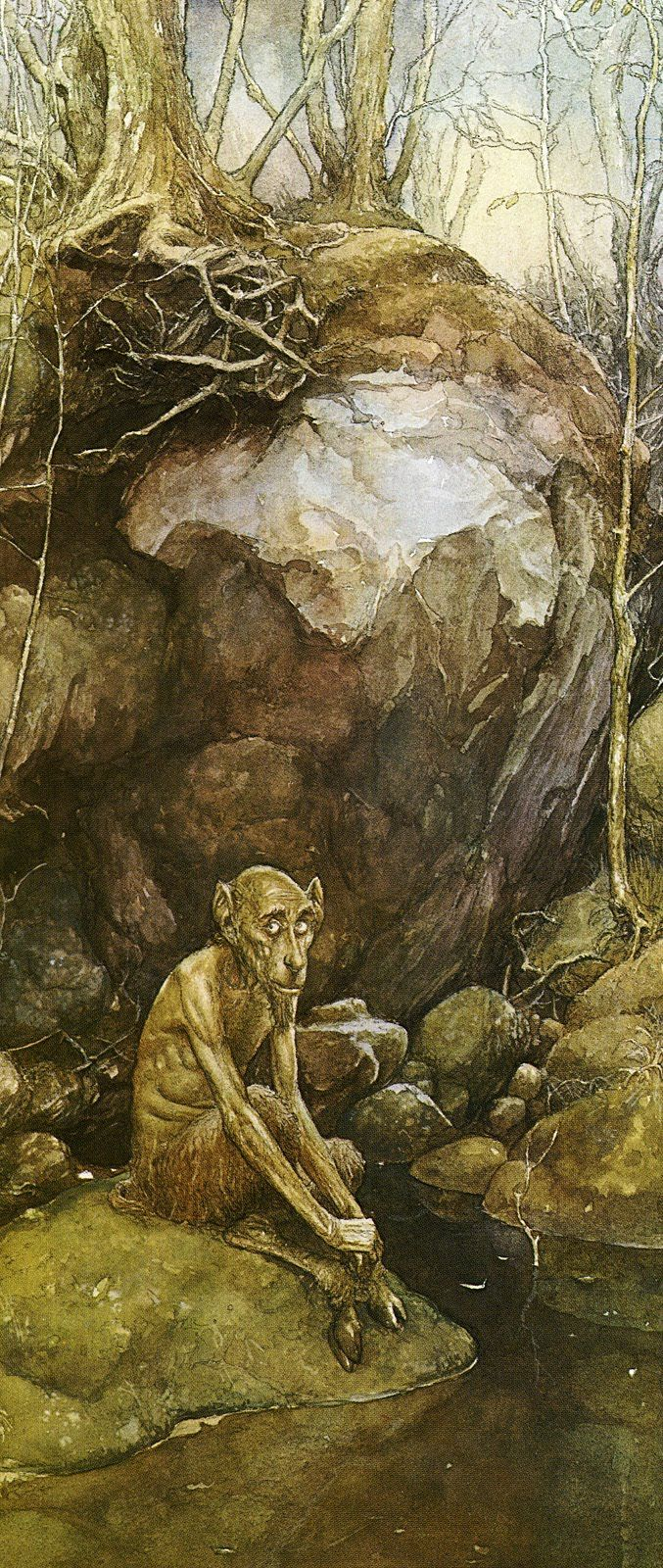 Old Satyr::Alan Lee