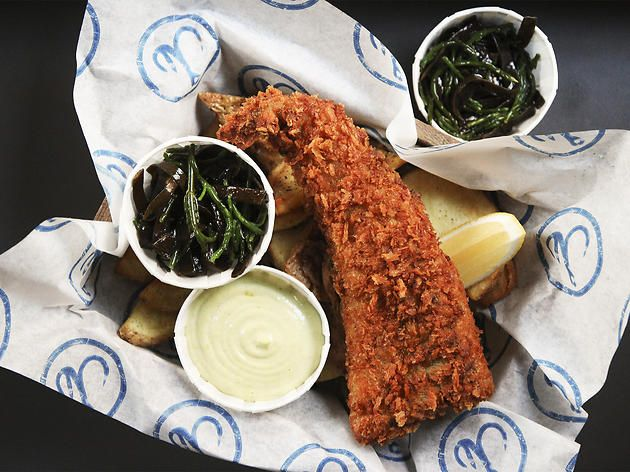 Hook Camden Town - Fish and Chips