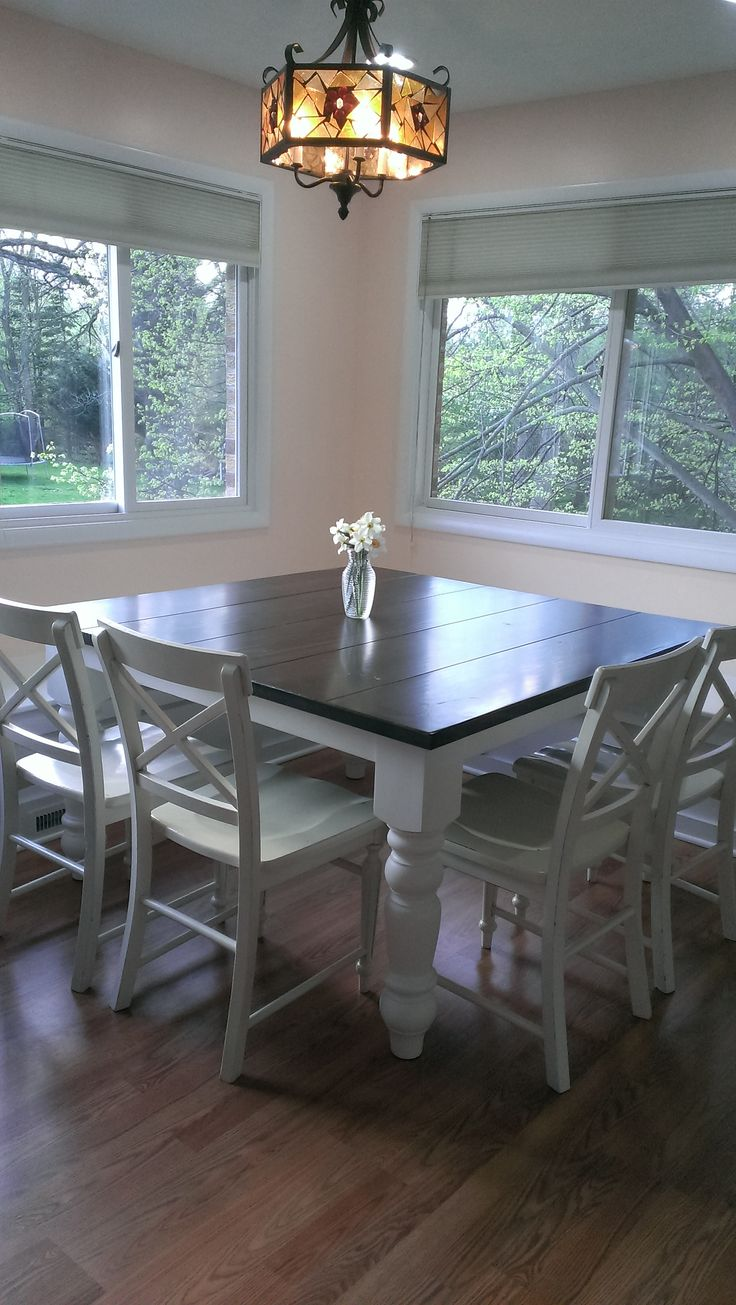 59 Best Images About Baluster Turned Leg Table On Pinterest Traditional Modern Farmhouse And