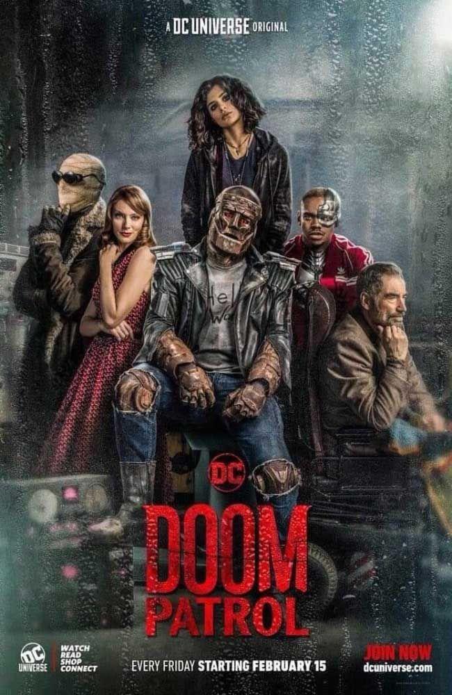 Doom Patrol Temporada 1 En Español Latino Castellano Sub Español Lista De Capitulos Jovenes Titanes Serie La Patrulla Superhéroes Dc