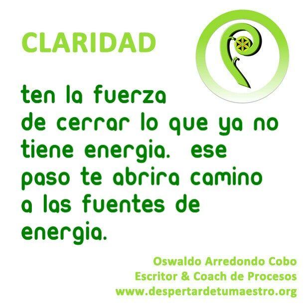 Ten la #fuerza de #cerrar #ciclos