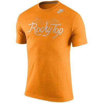 Men's Nike Tennessee Orange Tennessee Volunteers Local Team Vibe Marled T- Shirt