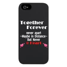 TOGETHER FOREVER - LOVE QUOT iPhone 5/5S Snap Case