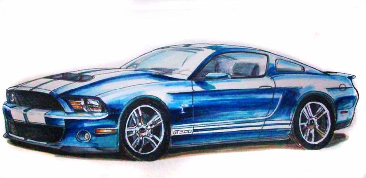 mustang gt drawing how to draw a gt mustang drawings. Black Bedroom Furniture Sets. Home Design Ideas