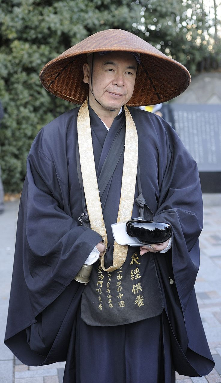 Male Shinto Priest 91